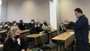 Мастер-класс Павла Рязанцева