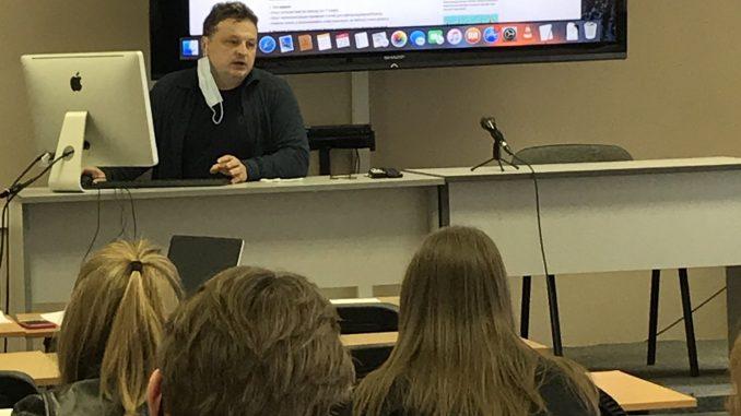 Павел Рязанцев рассказал о профессии журналиста