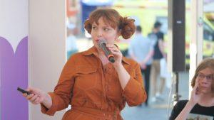 Елизавета Трусевич прочла лекцию на Красной площади