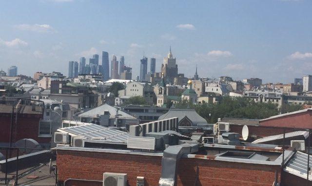 Репортаж с крыши