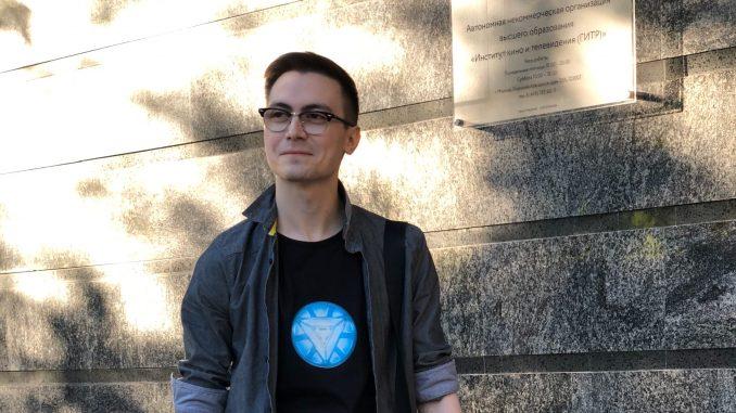 Наш киборг Макс Елин возвращается в ГИТР со своей книгой!