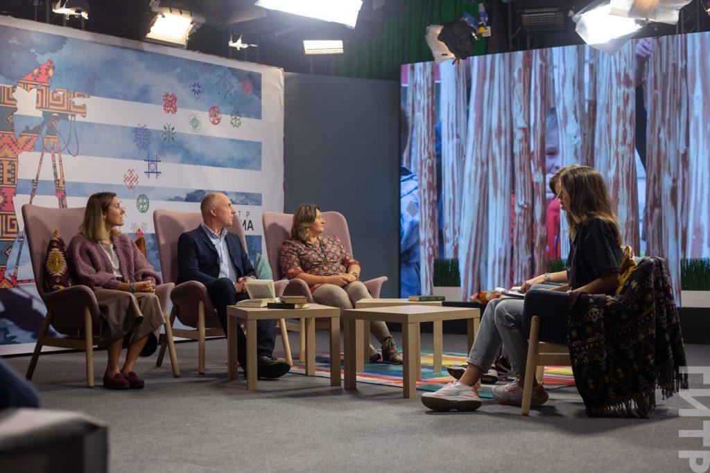 «Этномедиа»: в ГИТРе прошло первое ток-шоу в новом учебном году