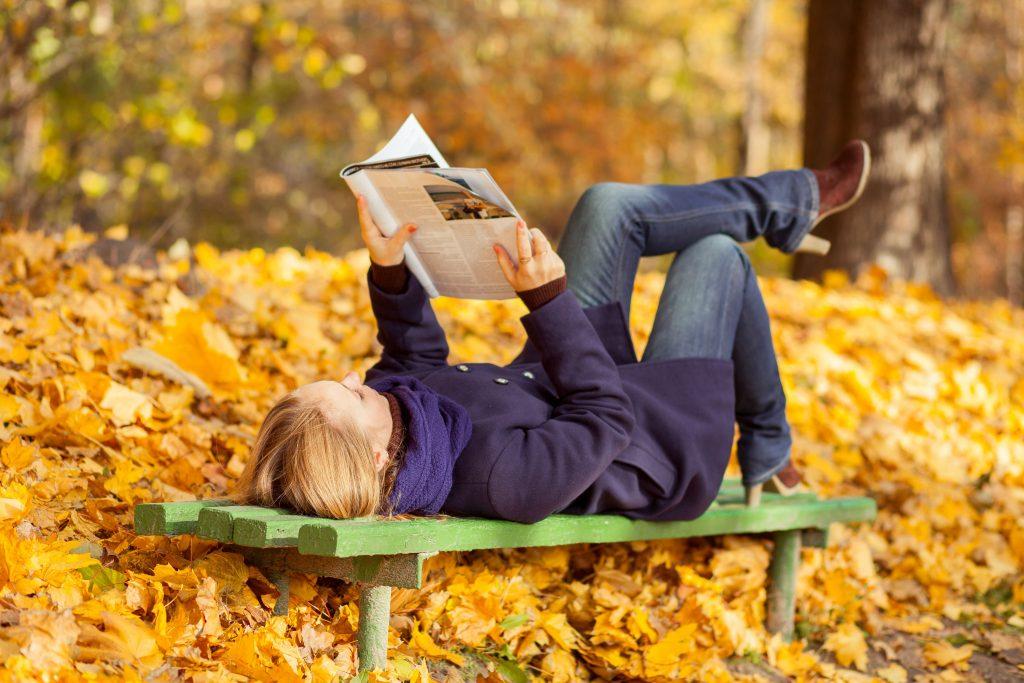 Библиотечный день: Осень – время читать